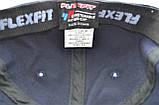 Кепка фулка Flexfit 56-58 см темно-синяя (F 0919-114), фото 2