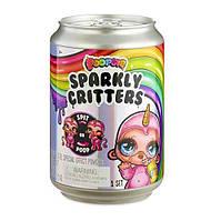 Детский Игровой Набор для Девочек с Игрушкой единорогом и сюрпризами Пупси Poopsie Sparkly Critters Slime