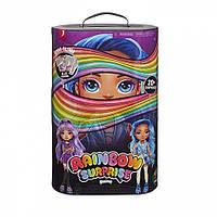 Детский Игровой набор с Коллекцией Кукол и аксессуарами фиолетовый Poopsie Fashion Dolls Rainbow Surprise