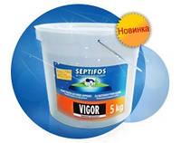 Биопрепарат для септиков Septifos vigor  5кг.(ЭКОупаковка)  (ведро) 200порций !