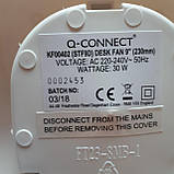 Настольный вентилятор Q Connect 230-мм / 9-дюймовый 2-скоростной, фото 4