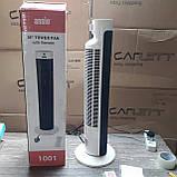3-швидкісний осцилювальний вентилятор ANSIO Tower Fan 30-дюймовий з пультом дистанційного керування для будинку, фото 2