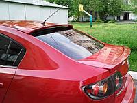 Спойлер на стекло Mazda 3 седан, Мазда III