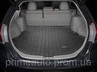 Коврик в багажник для Toyota Venza 2008-2017 черный | Автоковрик WeatherTech 40369