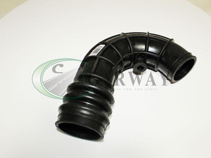 Патрубок повітряного фільтра до дросселю ВАЗ 2110-12, 2170 (гофра) довге коліно (16кл) 2170-1148035-10 ГТВ