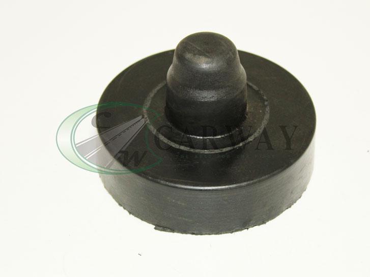 Підставки пружин Lanos задні посилені (гума 35 мм) верх 96179844 ГТВ