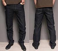 Мужские джинсы классические демисезон весна осень черные 30,31,32 р.
