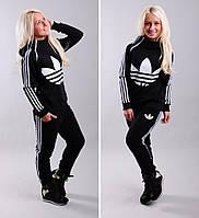 Жеский спортивный костюм Adidas три полоски 42-46