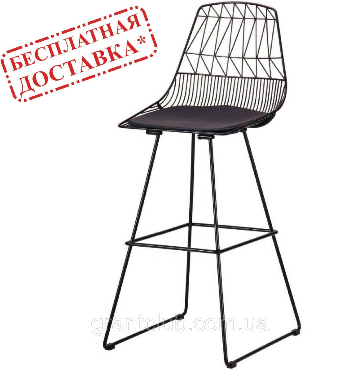 Стул барный PITTA черный AMF (бесплатная адресная доставка)