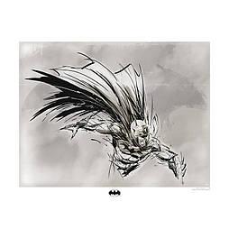 """Коллекционная картина DC COMICS - Collector Artprint - """"Batman sketch"""" (50x40)"""