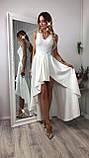 Сукню купити Ліана асиметрія вечірній випускний коктельное довгий шлейф гіпюр плаття 42 44 46 48 50 Р, фото 2