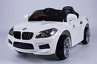 Детский электромобиль T-764 EVA BMW белый легковая на Bluetooth 2.4G