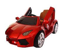 Детский электромобиль T-7645 EVA Lamborghini красный легковая на Bluetooth 2.4G