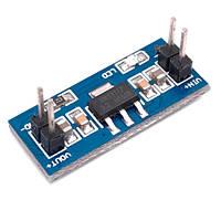 Понижающий преобразователь напряжения DC-DC AMS1117 6-12В на 3.3В Arduino
