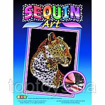 Набір для творчості Sequin Art Blue Леопард (SA1208)