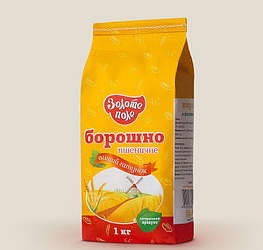 "Борошно вищого гатунку ""Золоте поле"" 1 кг"