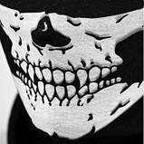 Бафф с черепом белым универсальная защитная, фото 7