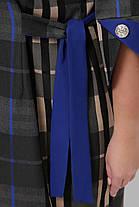 Повседневное платье Джулия электрик Размеры  52, 54, 56, 58, фото 3