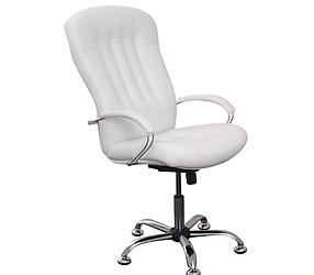 Кресло для Визажа и Педикюра Partos, кожзаменитель Boom-01 (Velmi TM)