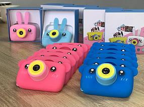 Детский цифровой фотоаппарат Smart Kids Camera 3 Series 20MP Full HD 1080P (Pink Bear)