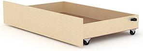 Ящик выдвижной для кроватей Классика и Модерн КОМПАНИТ Венге светлый (99.7х61.6х19 см)