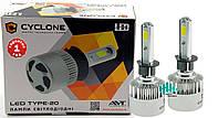 Светодиодные лампы в фары Cyclon LED H1 5000K 2800Lm type 20 (пара)