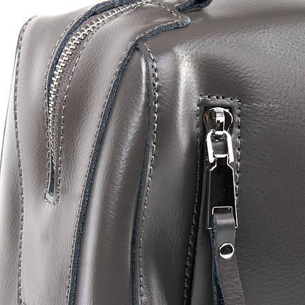 Сумка Женская Классическая кожа ALEX RAI 09-2 8763 grey, фото 2