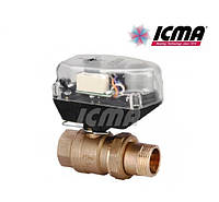 Icma Шаровой зонный вентиль с сервомотором 1 1/4 №341