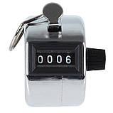 Ручной 4-разрядный счетчик 0000-9999, фото 3