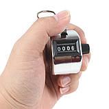 Ручной 4-разрядный счетчик 0000-9999, фото 4