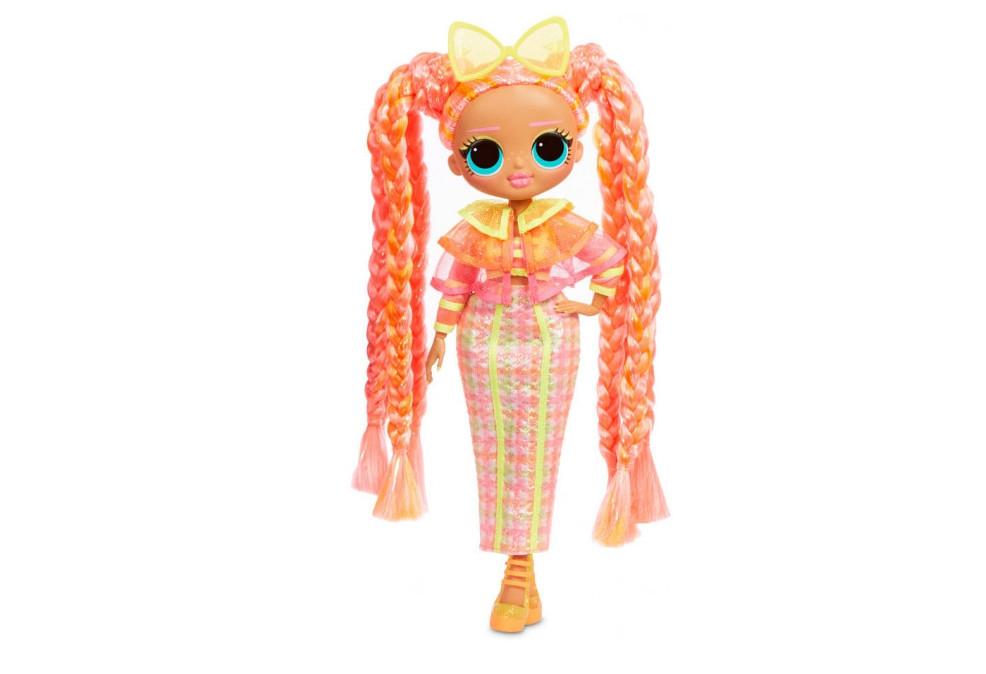 Игровой набор-сюрприз с куклой L.O.L. SURPRISE серия O.M.G. Lights - Блестящая королева с аксессуарами