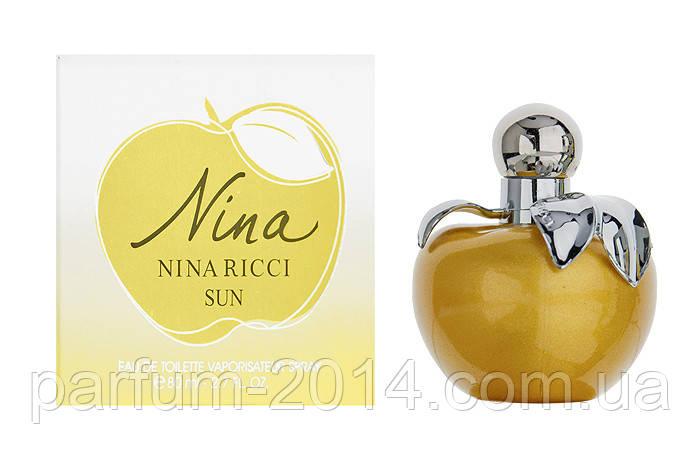Женская туалетная вода Nina Ricci Sun (реплика), фото 2