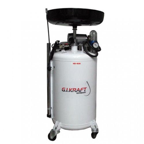 Установка для зливу і відкачування масла з електронасосом (80л.) G. I. Kraft HD-806AC