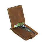 Зажим для денег DNK Leather DNK Зажим-H мелочь col.G, фото 2