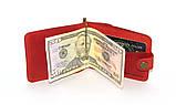 Зажим для денег DNK Leather DNK Зажим-H мелочь col.H, фото 3