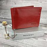 Кошелек женский Rovicky N1908-RVTK Red, фото 2