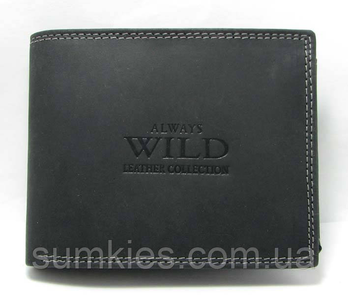 Кошелек мужской Always Wild N992-MH U Black
