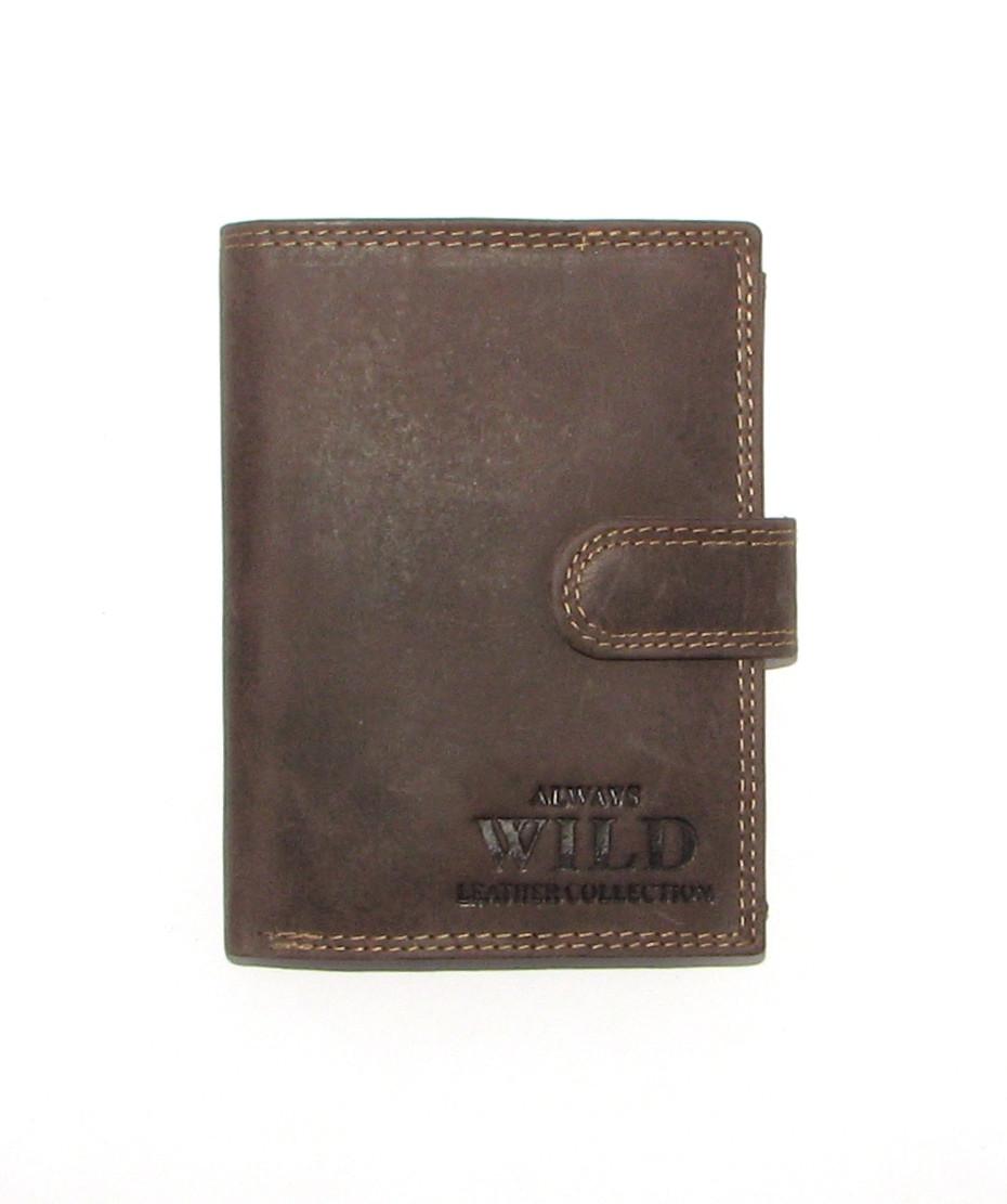 Кошелек мужской Always Wild N4L-MH U Brown