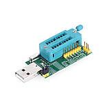 USB мини программатор CH341A 24 25 FLASH 24 EEPROM, фото 2