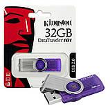 USB Flash 32GB флешка Kingston DataTraveler DT101 G2, фото 2