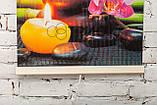 Обогреватель-картина инфракрасный настенный ТРИО 400W 100 х 57 см, гармония, фото 4