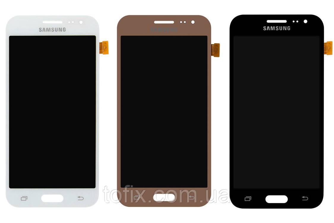 Дисплейный модуль (экран и сенсор) для Samsung J2 (2015) J200, OLED матрица