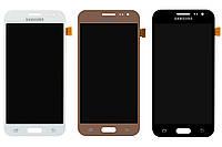 Дисплейный модуль (экран и сенсор) для Samsung J2 (2015) J200, OLED матрица, фото 1