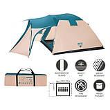 Пятиместная палатка Bestway Hogan 68015, фото 3