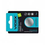 Батарейка литиевая Videx CR2025, фото 3
