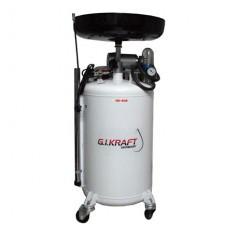 Установка для слива и откачки масла вакуумного типа (80л.) G.I.Kraft HD-808