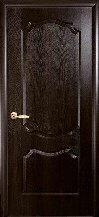 Дверь межкомнатная Вензель каштан 600 мм, глухая.