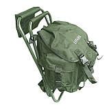 Стул-рюкзак складной FS 93112 RBagPlus RA 4401, зеленый, фото 3
