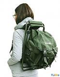 Стул-рюкзак складной FS 93112 RBagPlus RA 4401, зеленый, фото 7