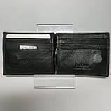 Шкіряний зажим для грошей / Кожаный мужской кошелек Dr.Bond MZS-3, фото 3
